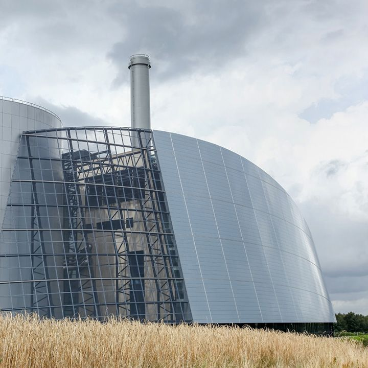 Viborg thermal power station in Denmark
