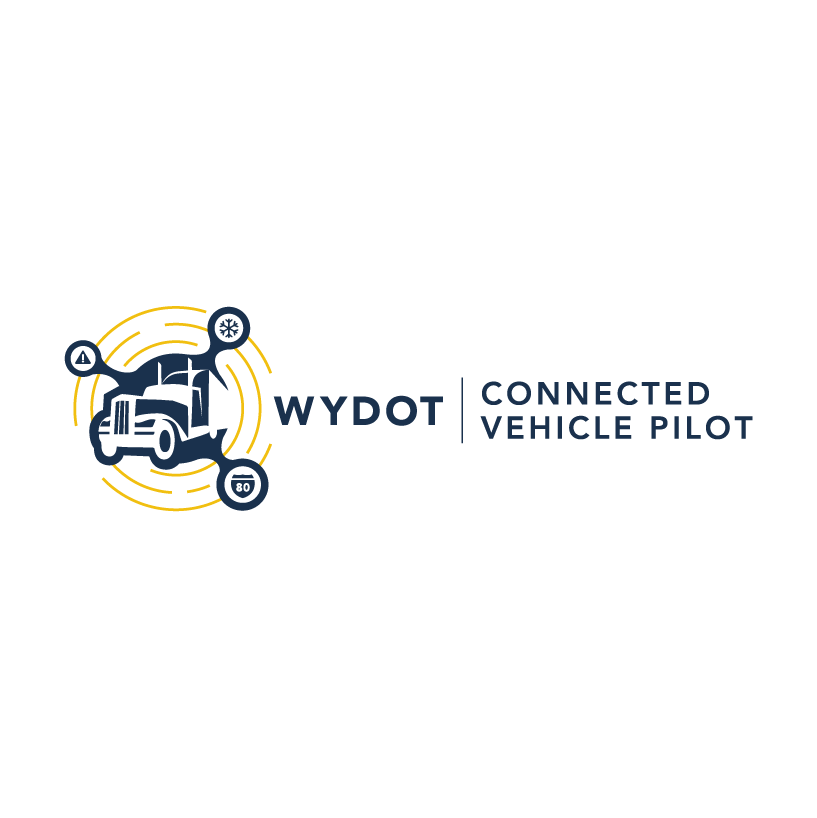 WYDOT Connected Vehicle Pilot logo