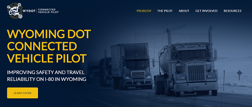 WYDOT website