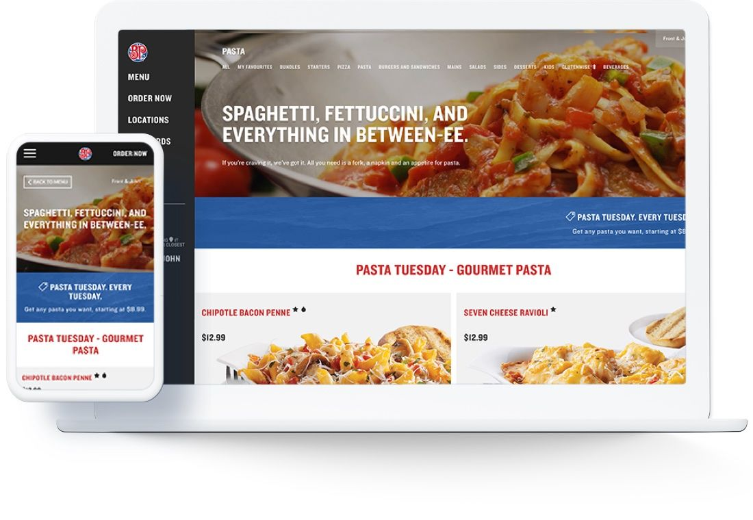 boston pizza device