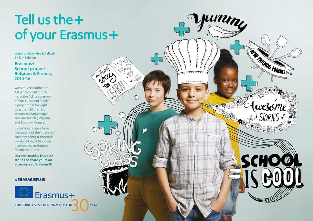 tell us the plus of your erasmus three children